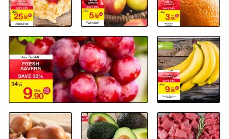Special Offer at CARREFOUR, January 2018