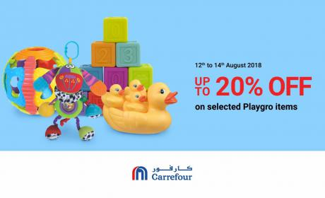 Special Offer at CARREFOUR, August 2018