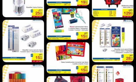 Spend 200 and get a AED 50 voucher Offer at CARREFOUR, September 2017