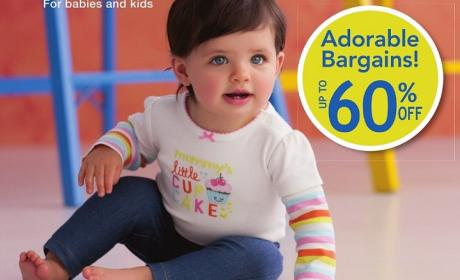 Up to 60% Sale at Carter's, February 2015