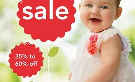 25% - 60% Sale at Carter's, February 2016