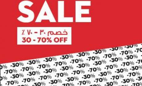 30% - 70% Sale at Celio, February 2016