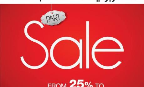 25% - 60% Sale at centrepoint, May 2017