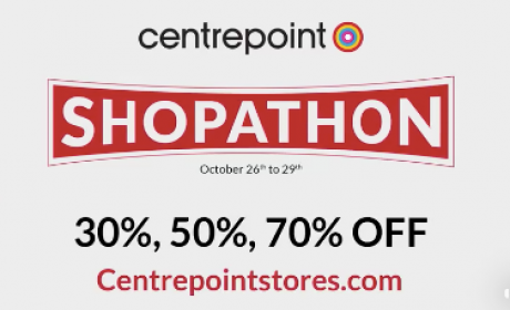 30% - 70% Sale at centrepoint, October 2017