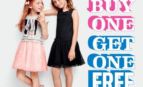 Buy 1 and get 1 Offer at THE CHILDREN'S PLACE, November 2016