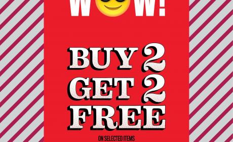 Buy 2 and get 2 Offer at THE CHILDREN'S PLACE, November 2017