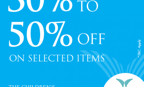 30% - 50% Sale at THE CHILDREN'S PLACE, May 2017