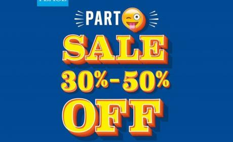 30% - 50% Sale at THE CHILDREN'S PLACE, June 2017