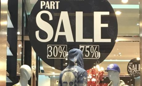 30% - 75% Sale at Christian Audigier, May 2017