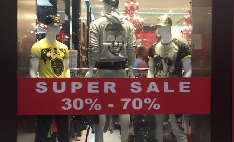 30% - 70% Sale at Christian Audigier, May 2017