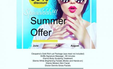 Up to 50% Sale at CLEOPATRA'S SPA AND WELLNESS CENTRE, August 2017
