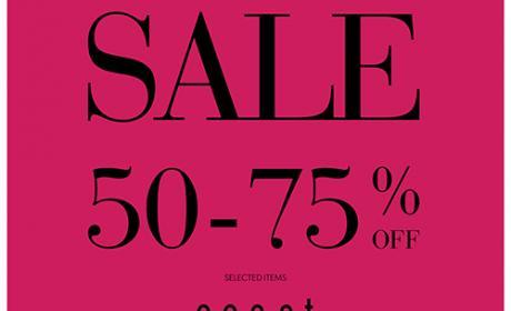 50% - 75% Sale at Coast, November 2017