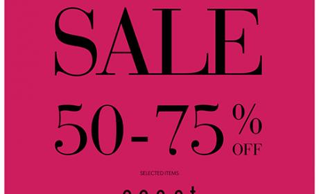 50% - 75% Sale at Coast, April 2018