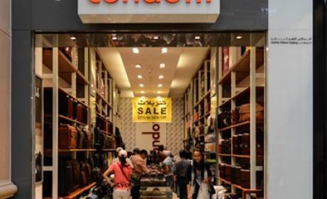 30% - 75% Sale at Condotti, May 2017