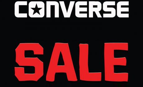 30% - 70% Sale at Converse, August 2017