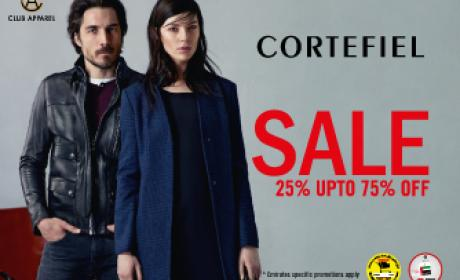 25% - 75% Sale at Cortefiel, January 2016