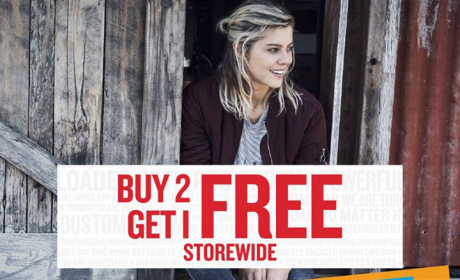 Buy 2 and get 1 Offer at Cotton On, December 2016