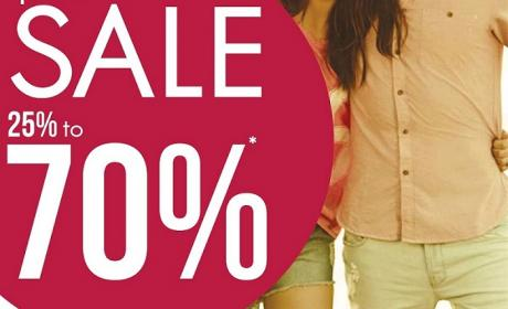 25% - 70% Sale at Cotton On, February 2015