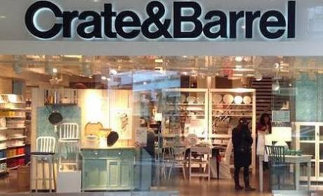 Up to 30% Sale at Crate & Barrel, April 2018