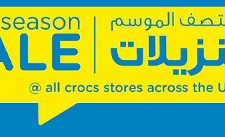 Special Offer at Crocs, November 2015