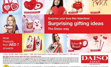 Special Offer at DAISO, February 2015