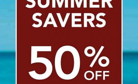 Up to 50% Sale at Debenhams, June 2016