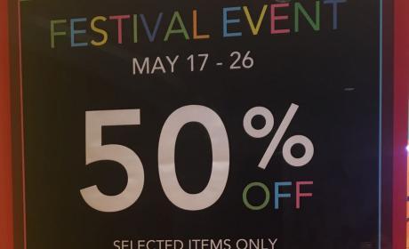 Up to 50% Sale at Debenhams, May 2017