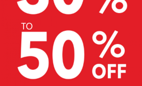 30% - 50% Sale at Debenhams, October 2017