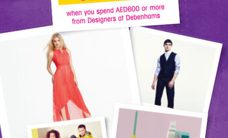 Spend 600 and get AED 120 OFF Offer at Debenhams, August 2014