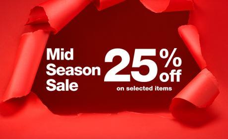 Up to 25% Sale at Desigual, November 2014
