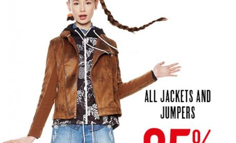 Up to 25% Sale at Desigual, March 2018