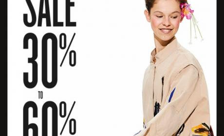 30% - 60% Sale at Desigual, May 2018