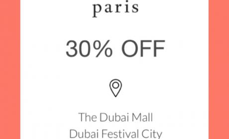 Up to 30% Sale at Diptyque, May 2018