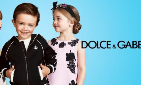 40% - 50% Sale at Dolce & Gabbana Kids, July 2017
