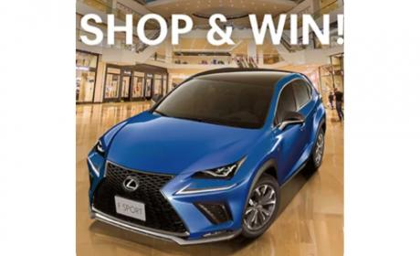 Spend 300 And  have a chance to win Vouchers up to AED 200,000 and a 2018 Lexis! Offer at Dubai Festival City, August 2018