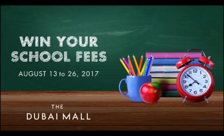 Spend 500 and enter to win one of four AED 50,000 prizes Offer at The Dubai Mall, August 2017