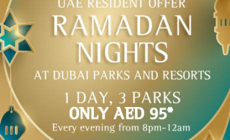 Special Offer at Dubai Parks and Resorts, June 2017