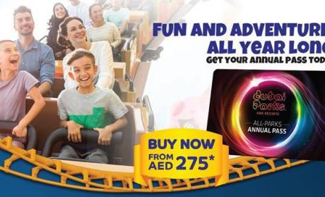 Special Offer at Dubai Parks and Resorts, October 2017