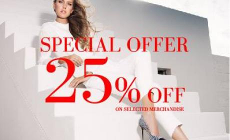 Up to 25% Sale at Dune, June 2014