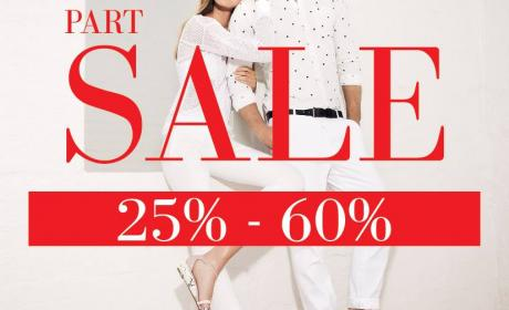 25% - 60% Sale at Dune, August 2016
