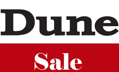 30% - 50% Sale at Dune, May 2017