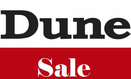 25% - 60% Sale at Dune, October 2017