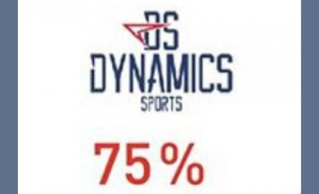 Up to 75% Sale at Dynamics Sports, May 2018