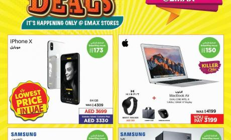 Special Offer at E Max, April 2018
