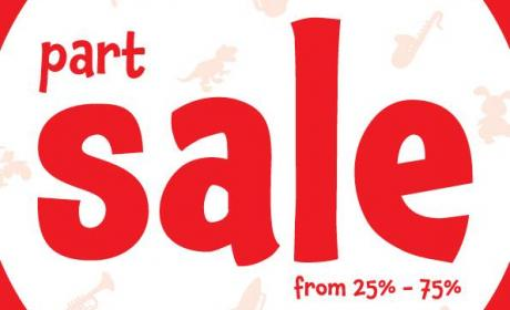 25% - 75% Sale at Early Learning Centre, February 2015