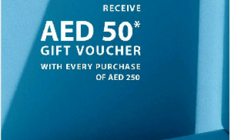 Spend 250 and receive a AED 50 voucher Offer at Esprit, May 2016