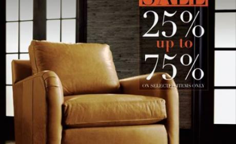 25% - 75% Sale at Ethan Allen, June 2016