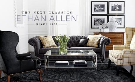 Up to 50% Sale at Ethan Allen, January 2018