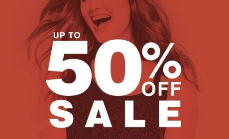 Up to 50% Sale at Evans, May 2017