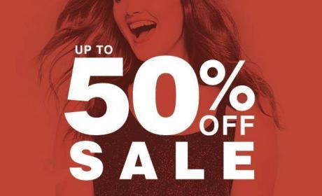 Up to 50% Sale at Evans, November 2017